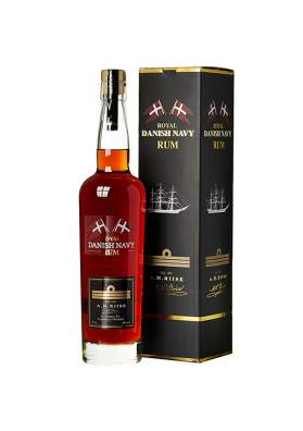A.H.Riise Royal Danish Navy Rum 70cl