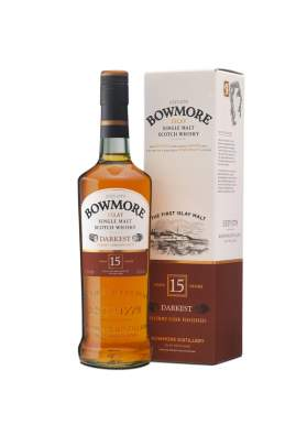 Bowmore Darkest 15 ani 70cl