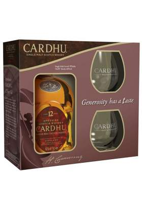 Cardhu 12 ani Gift Box 70cl