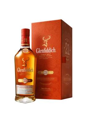 Glenfiddich Reserva Rum Cask Finish 21 ani 70cl