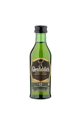 Glenfiddich 12 ani 5cl