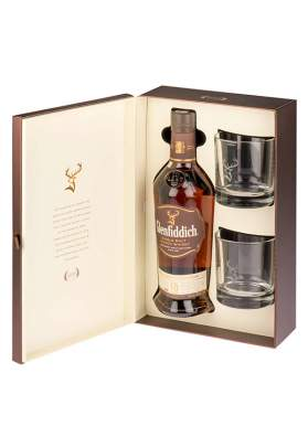 Glenfiddich 18 ani Gift Box 70cl
