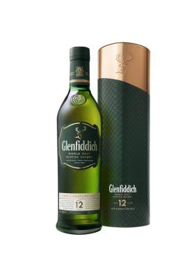 Glenfiddich 12 ani Liquid Cooper Tin 70cl