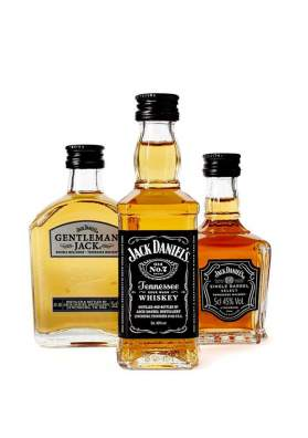 Jack Daniel's Family Of Brands 3 x 5cl