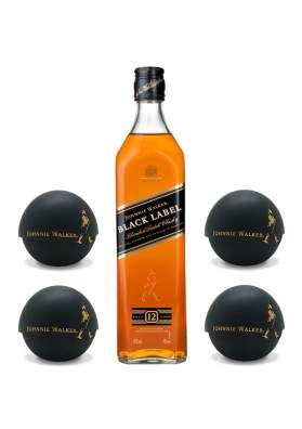 Johnnie Walker Black Label 12 ani Ice Ball Mould Gift Set 70cl