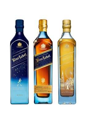 Johnnie Walker Blue Label Trio Collectin 3 x 70cl