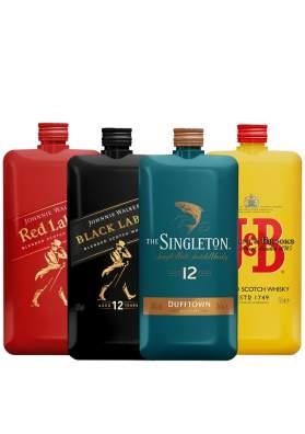 Pocket Blended Scotch Whisky 4 x 20cl