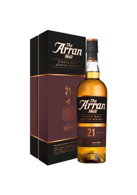 The Arran Malt 21 ani 70cl