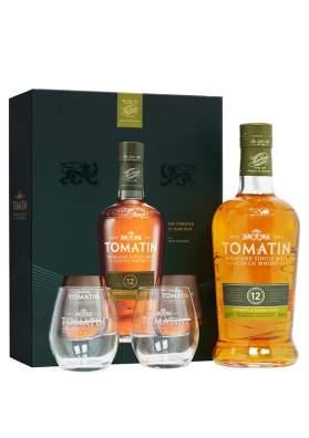 Tomatin 12 ani Gift Set 70cl