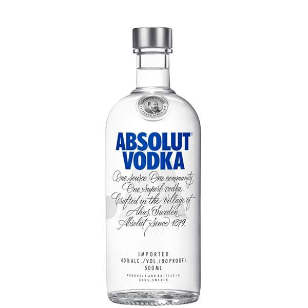 Absolut Vodka 50cl
