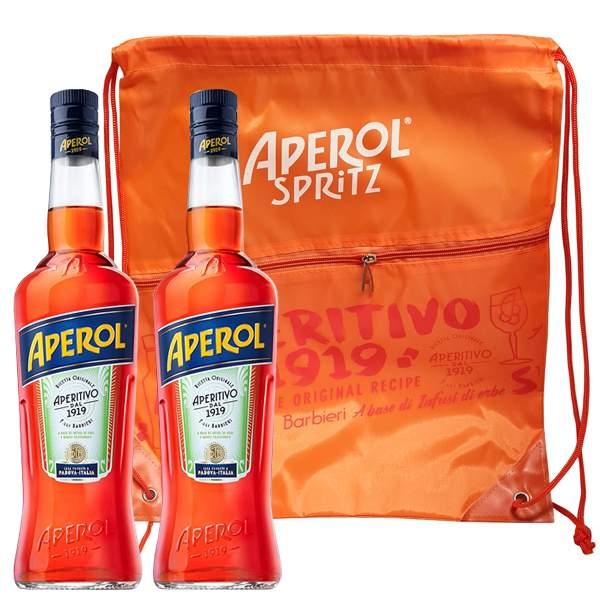 Aperol 2 x 0.7L Gift Bag