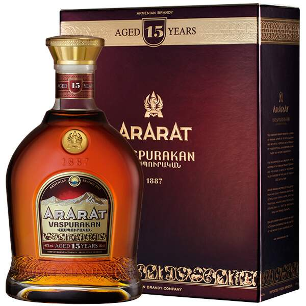 Ararat 15 ani 70cl