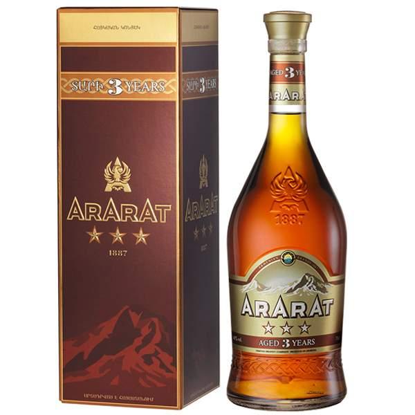 Ararat 3 ani 70cl