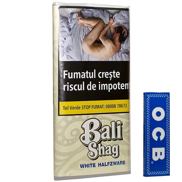 Bali Shag White Halfzware 40 g
