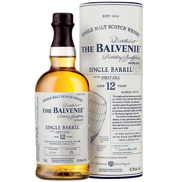 Balvenie 12 ani Single Barrel 0.7L