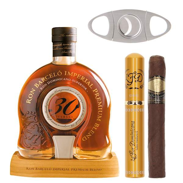 Barcelo Imperial 30 Aniversario Cigars 0.7L