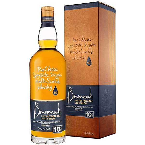 Benromach 10 ani 70cl