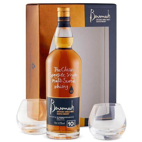 Benromach 10 ani Gift Set 70cl