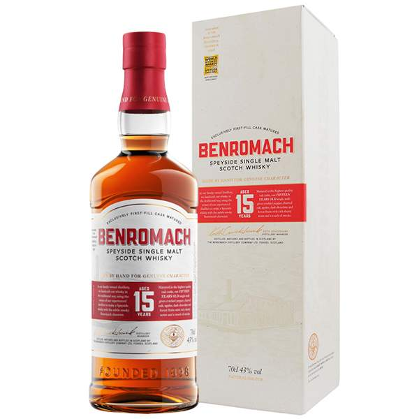 Benromach First Fill 15 ani 70cl