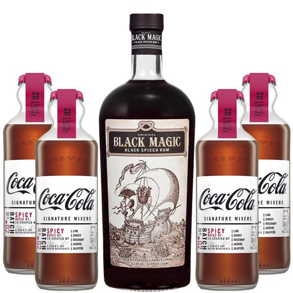 Black Magic Spicy Pack 70cl