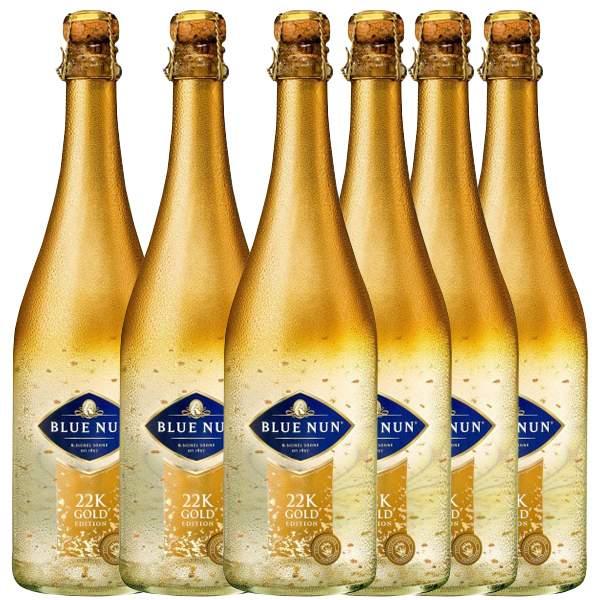 Blue Nun Gold Edition Six Pack 6 x 75cl