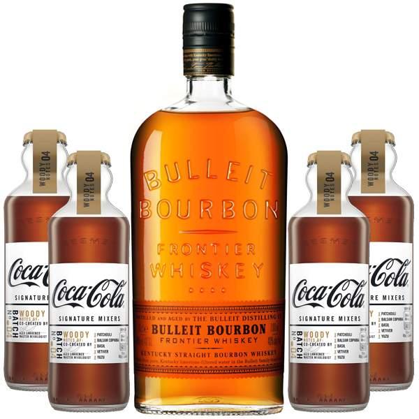 Bulleit Bourbon Woody Pack 70cl