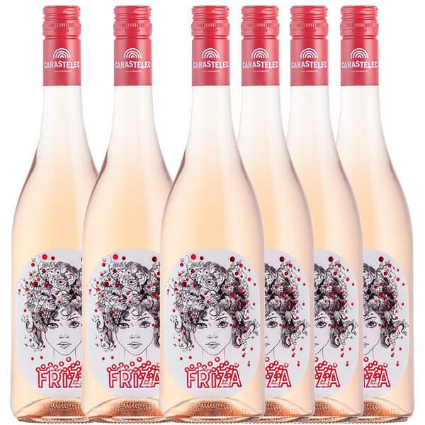 Carastelec Vinca Friza Rose Six Pack 6 x 75cl