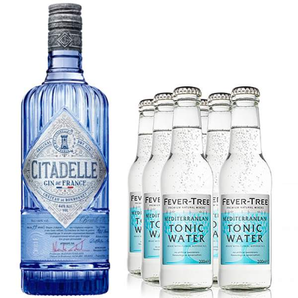 Citadelle Gin Tonic Gift Set 70cl