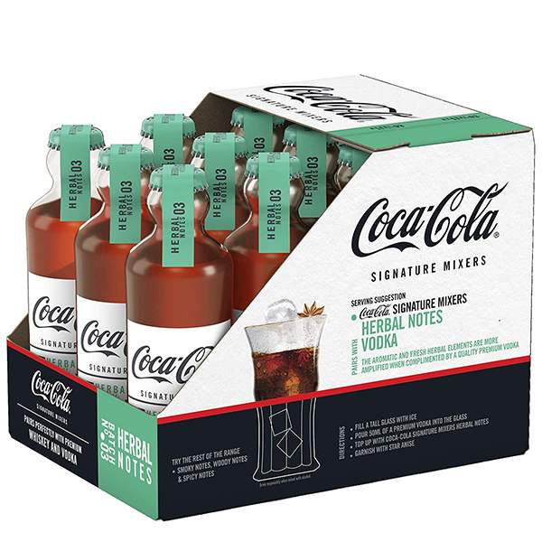 Coca Cola Signature Mixers Herbal Set 12 x 20cl