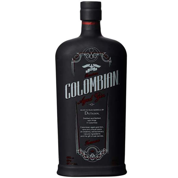 Colombian Dictador Premium Black Gin 70cl