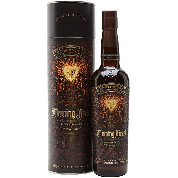 Compass Box Flaming Heart Limited Edition 70cl