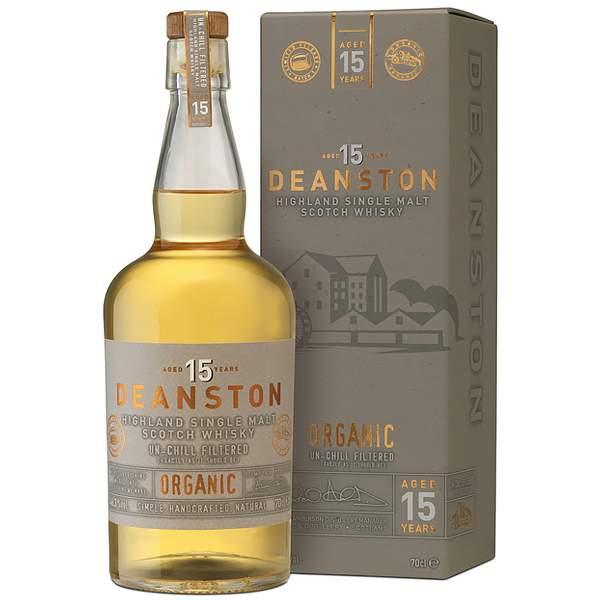 Deanston Organic 15 ani 70cl