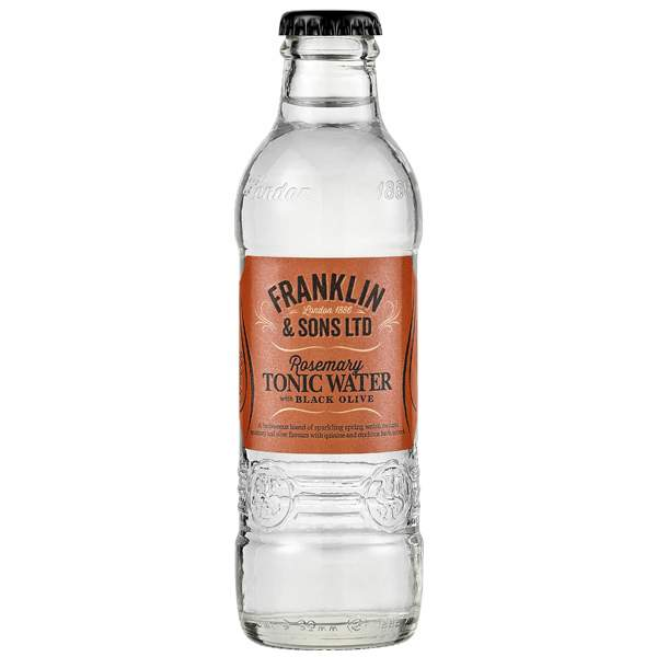 Franklin & Sons Rosemary With Black Olive 20cl
