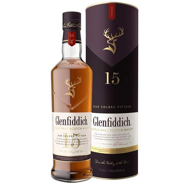 Glenfiddich 15 ani 70cl
