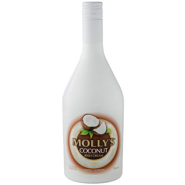 Mollys Coconut Irish Cream 75cl