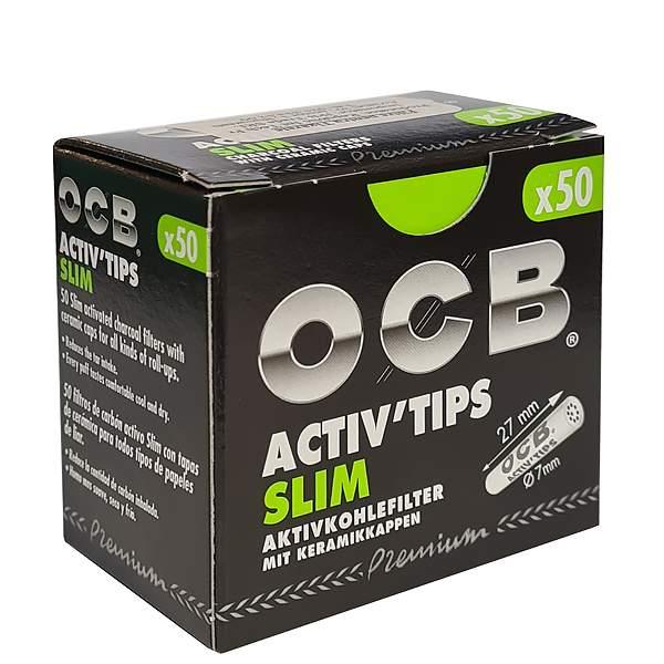 OCB Activ Tips Slim