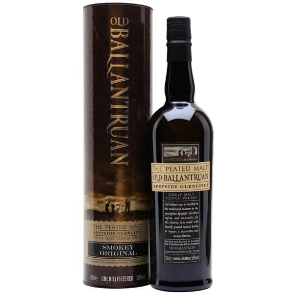 Old Ballantruan Peated Malt 70cl