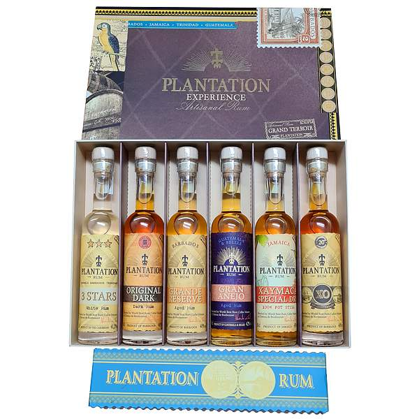Plantation Experience Artisanal Rum 6 x 10cl
