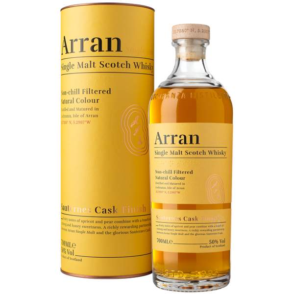 The Arran Malt Sauternes Cask Finish 70cl