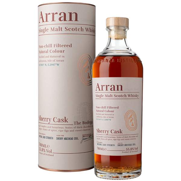 The Arran Malt Sherry Cask 70cl