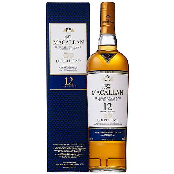 The Macallan 12 ani Double Cask 70cl